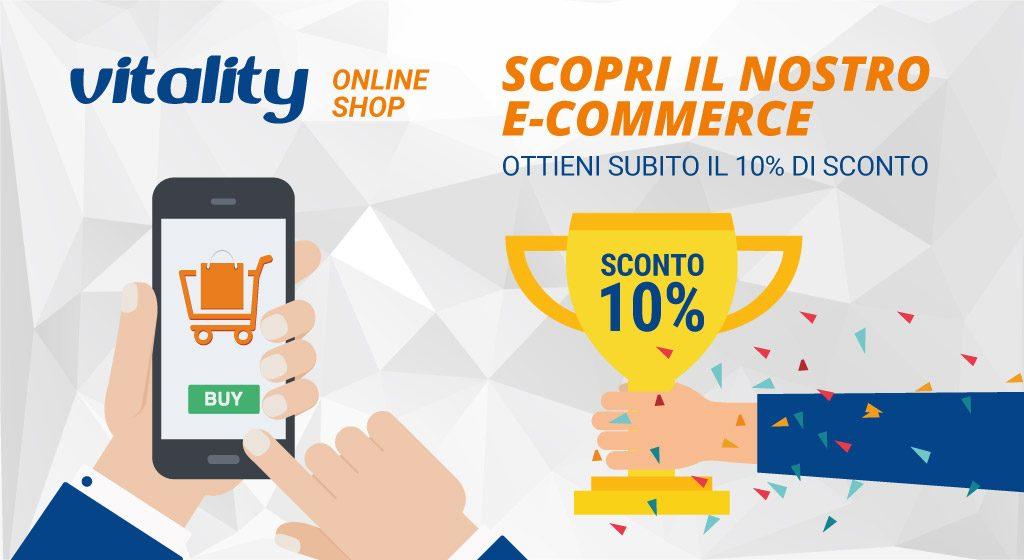 E-commerce integratori alimentari sport e benessere