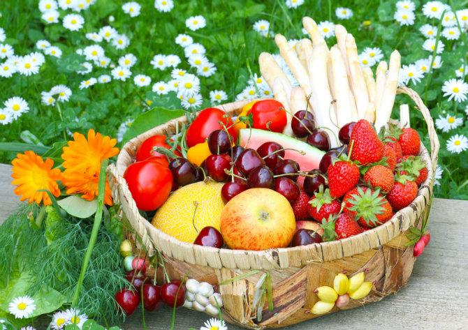 ortaggi di stagione, primavera
