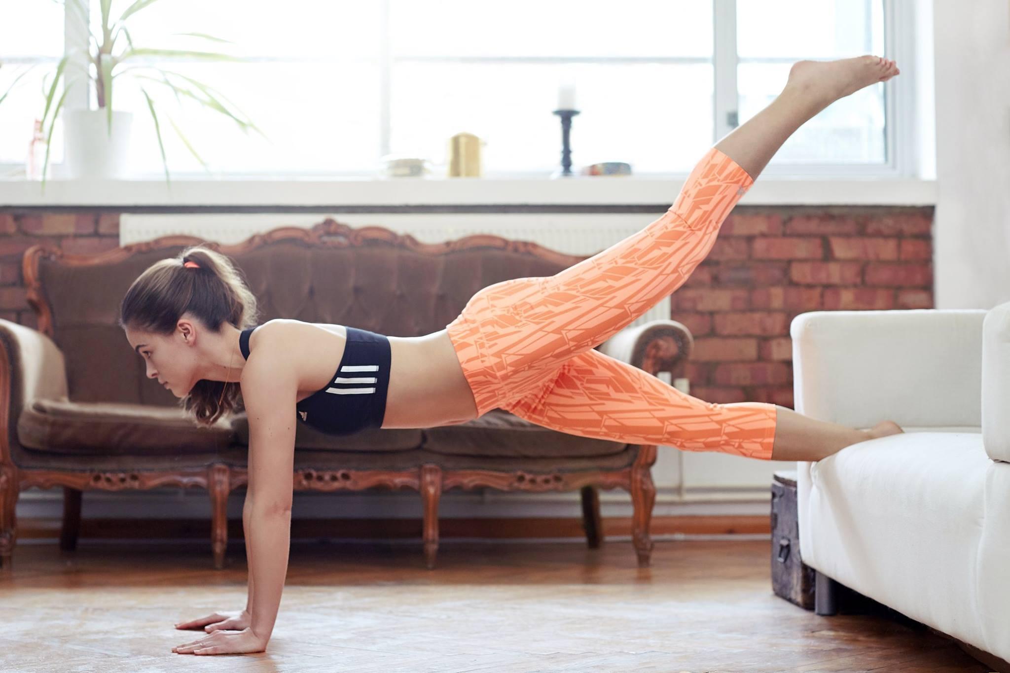 allenamento a casa fitness