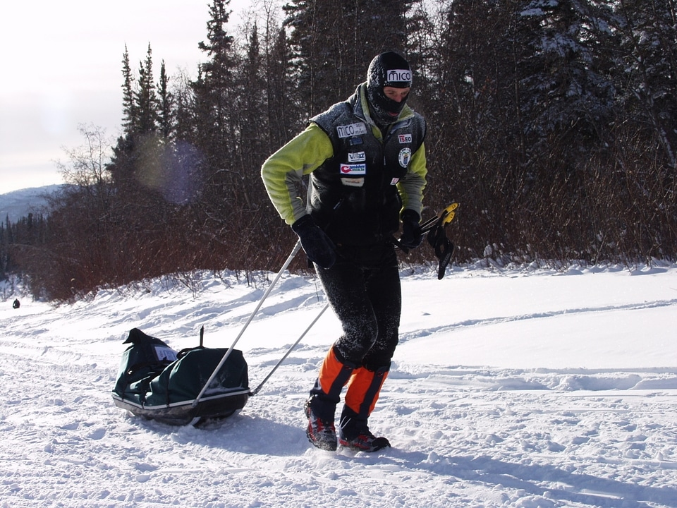 Stefano Miglietti corsa in Canada